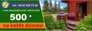 Bon Turystyczny 500 plus, Mazury, Restauracje na Mazurach, Ukta